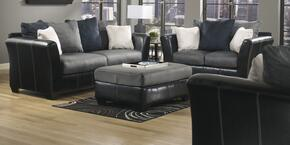 14200384PCKIT Masoli Two-Toned 4-Piece Living Room Set with Sofa, Loveseat, Chair and a Half, and Ottoman in Cobblestone