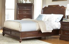 8000QS2SET American Woodcrafters 3 Pc Signature Bedroom Collection Set Including Queen Size Sleigh Storage Bed and 2 Nightstands