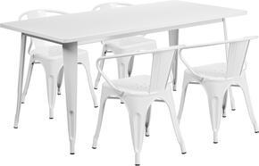 Flash Furniture ETCT005470WHGG