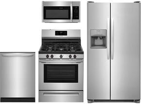 4-Piece Stainless Steel Kitchen Package With FFSS2615TS 30