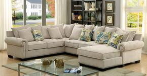 Furniture of America CM6156SECTIONAL