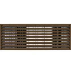 Maple Finish Zoneline Architectural Rear Grille
