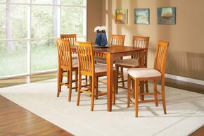 Atlantic Furniture SHAKER4260BTPTES