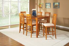 Atlantic Furniture SHAKER4278BTPTES