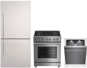 3-Piece Kitchen Package with BRFB1812SSN 30