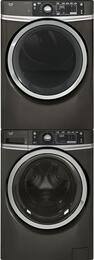 Diamond Grey Front Load Washer with GFW480SPKDG 28