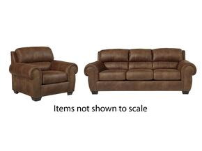 Burnsville Collection 97206SC 2-Piece Living Room Set with Sofa and Living Room Chair in Espresso