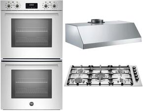 3-Piece Stainless Steel Kitchen Package with PROFD30XV 30
