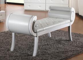 VIG Furniture VGKCMONTEBENCHWHT