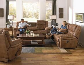Joyner Collection 4255-2051-29SET 3 PC Living Room Set with Lay Flat Reclining Sofa + Loveseat + Recliner in Almond Color