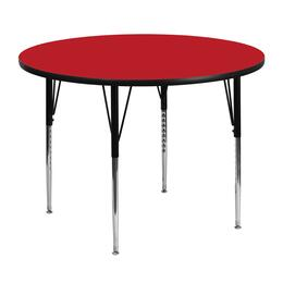 Flash Furniture XUA48RNDREDHAGG