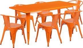 Flash Furniture ETCT005670ORGG