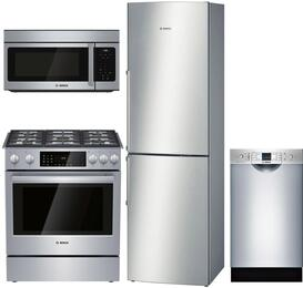 4-Piece Kitchen Package with B11CB50SSS 24