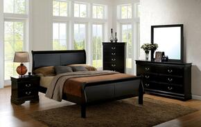 Furniture of America CM7866BKTBEDSET