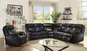 Glory Furniture G761SECTIONALBLACK