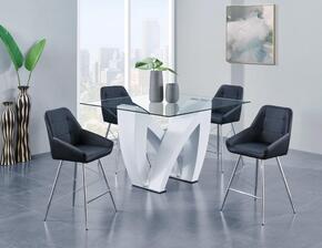 Global Furniture USA D9913BT4D1067BSBL