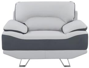 Global Furniture USA U7330LGRDGRCH
