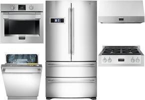 600 Series 5-Piece Stainless Steel Kitchen Package with FM36CDFDS1 36