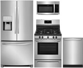 4-Piece Stainless Steel Kitchen Package With FFHB2750TS 30