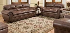 Padre 7510-030201 3 Piece Set including Sofa, Loveseat and Chair with  Nail Head Accents in Espresso