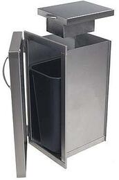 TCR Stainless Steel Trash Door wi...