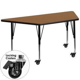 Flash Furniture XUA3060TRAPOAKTPCASGG