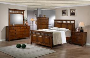 Tremont Collection SS-TR900-Q-BED-SET 5 Piece Queen Bedroom Set with Bed + Dresser + Mirror + Chest + Nightstand