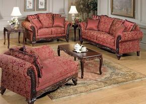 Fairfax 50330SLCT 6 PC Living Room Set with Sofa + Loveseat + Chaise + Coffee Table + 2 End Tables