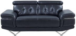 Global Furniture USA U8740BLANCHEBLACKLS