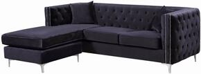 Meridian 668BlackSectional