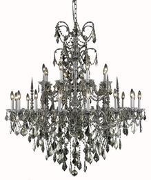 Elegant Lighting 9724G44PWGTSS