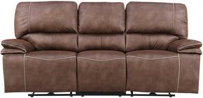 Global Furniture USA U8078SULTRYDRKBROWNPECANPRS