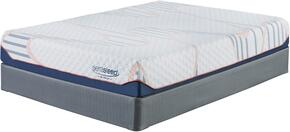 10 Inch MyGel Collection M75751-M81X52 Set of Mattress and Foundation in California King Size