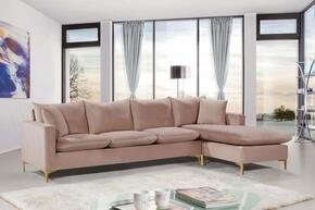 Meridian 636PINKSECTIONAL