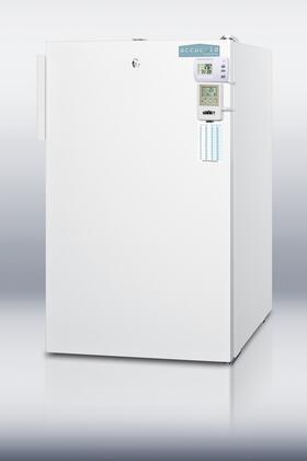 "Summit FS407LBIMEDSCADA20"" Medical Series Freestanding Upright Counter Depth Freezer"