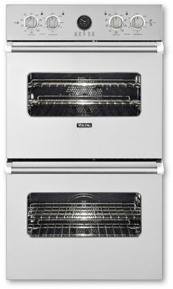 "Viking VEDO5272 27"" Professional 5 Series Electric Double Wall Oven with 8.2 cu. ft. Capacity, Convection, Infrared Broiler, Full Extension Racks, Rapid Preheat and Self-Clean, in"
