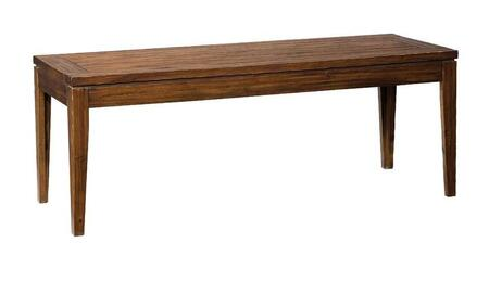 Standard Furniture 90497 Accent Armless Wood Not Upholstered Bench