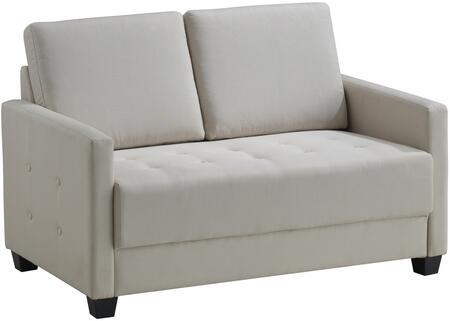 Glory Furniture G775L Fabric Stationary Loveseat