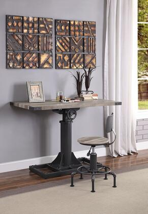 Acme Furniture Baara Desk and Chair