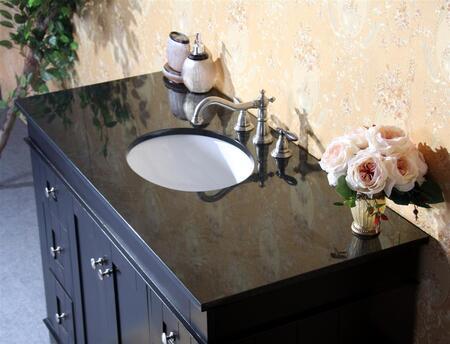 Legion Furniture WLF6018-XX-49 49in. Granite, Backsplash and Cupc Sink
