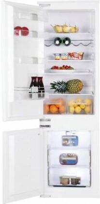 Blomberg BRFB0900L  Counter Depth Bottom Freezer Refrigerator with 9.53 cu. ft. Total Capacity 1.55 cu. ft. Freezer Capacity 4 Glass Shelves