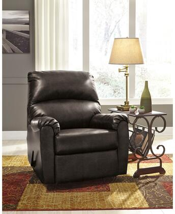 Flash Furniture FSD5199RECGUNGG Talco Series Contemporary Faux Leather Metal Frame  Recliners