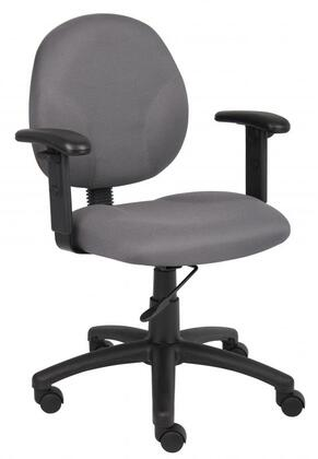 "Boss B9091GY 25"" Adjustable Contemporary Office Chair"