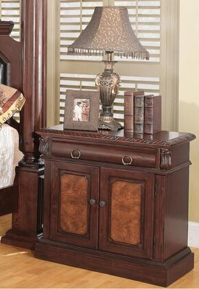 Coaster 202202 Grand Prado Series Rectangular Wood Night Stand
