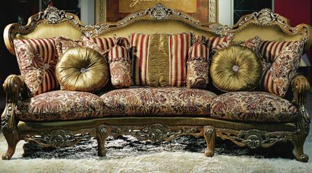 Yuan Tai LL1900S Lillian Series Sofa Fabric Sofa