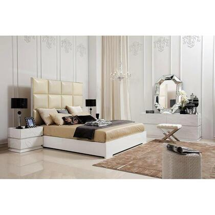VIG Furniture 8C004AQ4PCSET Queen Bedroom Sets