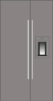 Thermador 277094 Freedom Side-By-Side Refrigerators