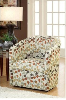 Chelsea Home Furniture 251300CH Armchair Fabric Wood Frame Accent Chair