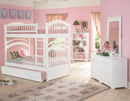 Atlantic Furniture AB57132  Twin Size Bunk Bed