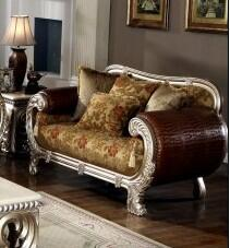 Yuan Tai ST3300L Strasbourg Series Fabric  with Wood Frame Loveseat